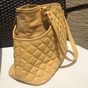 J. McLaughlin Bags - J. McLaughlin yellow quilted shoulder bag.